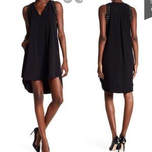 NWOT Swing Studded black High low Rachel Roy tunic